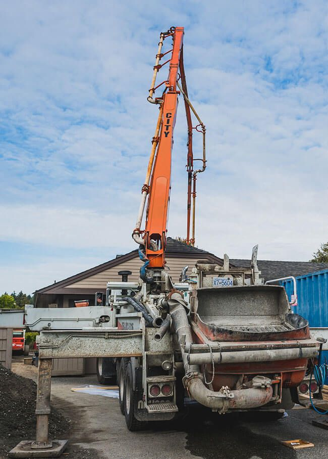 residential concrete pumping
